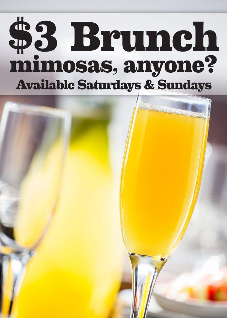 $3 Mimosas