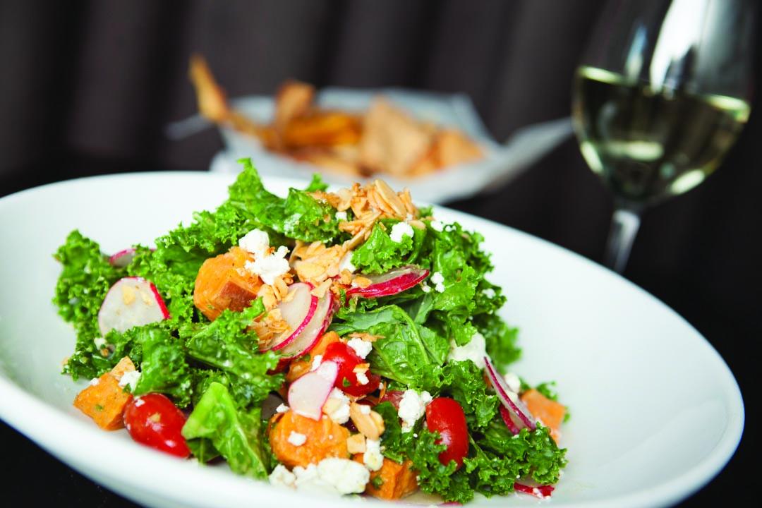 Kale & Roasted Sweet Potato Salad