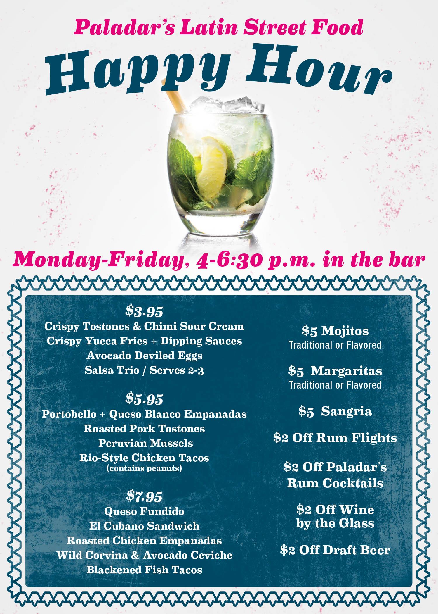 King of Prussia, Pennsylvania | Paladar Latin Kitchen & Rum Bar